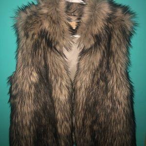 Micheal Kors faux fur vest!